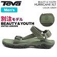 テバ Teva メンズ ハリケーンXLT ビューティアンドユースサンダル グリーン MEN'S HURRICANE XLT M BEAUTY AND YOUTH GREEN