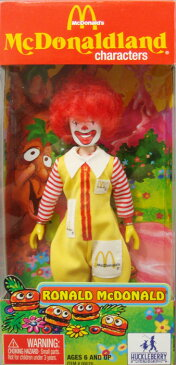◎【McDonald's/マクドナルド】 コレクションドール・フィギュア ロナルド/RONALD McDONALD アメリカ雑貨・アメ雑・アメリカン雑貨