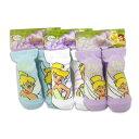 【Disney】 ティンカー・ベル ベビー用 靴下3種set(A) (ブルー/ホワイト/パープル)【レターパックOK☆】プレゼント ソックス 赤ちゃん
