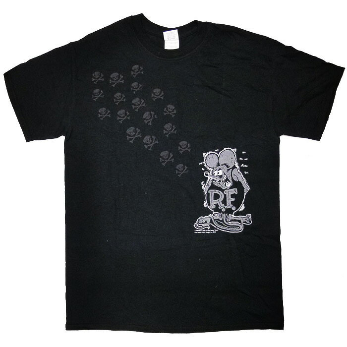 トップス, Tシャツ・カットソー  RatFink Ed Roth Skulls T