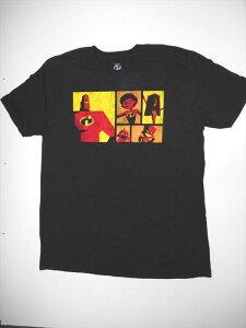 【Disney/ディズニー】大人Tシャツ XLサイズ『The Incredibles/Mr.インクレディブル』アニメ ピクサー 映画 アメリカ雑貨 アメ雑 アメカジ