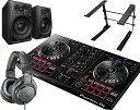 【選べる特典付き】PIONEER DJコントローラーセット / DDJ-RB + ATH-M20X + DM-40 + PCスタンド【送料無料】