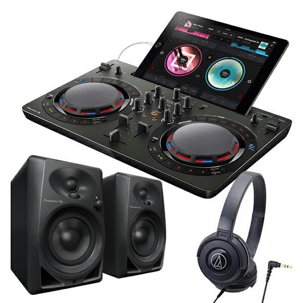 DJ機器, DJコントローラー PIONEER DJDDJ-WeGO4 BK DM-40-K ATH-S100 BK iOS rekordbox