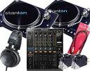 ALLジャンル対応、プロDJセットSTANTON ST.150 & PIONEER DJM-900nexus(ターンテーブルセット...