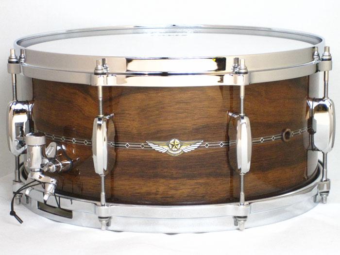 ドラム, スネア !! TAMA TBS1465SL STAR Bubinga Natural Indian Laurel 146.5