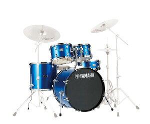 """送料無料!! YAMAHA(ヤマハ)ドラムセット RDP2F5 RYDEEN(ライディーン)22""""BDシェルパッケージ ファインブルー/FB"""