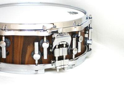 SONOR(ソナー)スネアドラム SQ1405SD/MHI-PA Classical SQ2 Rosewood メイプルシェル / スーパーライトケース付き・・・ 画像2