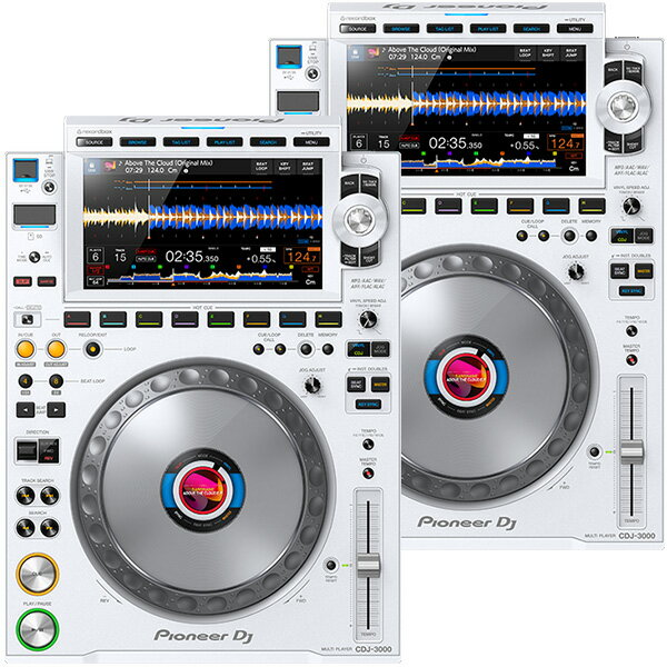 DJ機器, CDJプレーヤー PIONEER DJ CDJ-3000-W 2