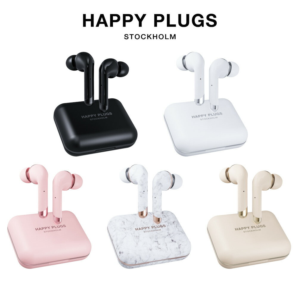 オーディオ, ヘッドホン・イヤホン Happy Plugs AIR1 PLUS IN-EAR 40 aptX SBC AAC
