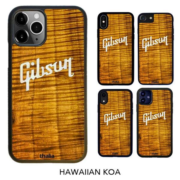 スマートフォン・携帯電話アクセサリー, ケース・カバー Thalia iPhone AAACurly Hawaiian Koa Gibson PEARL LOGOGibson