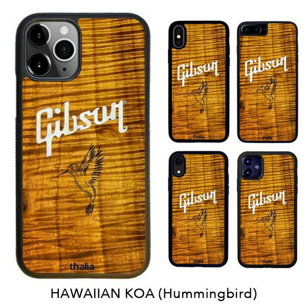 スマートフォン・携帯電話アクセサリー, ケース・カバー Thalia iPhone AAA Curly Hawaiian Koa Gibson PEARL HummingbirdGibson