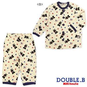 【ダブルB】全身Bくん★長袖パジャマ(80cm-130cm)【ダブルB/子供服のミキハウス】