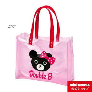 ★ダブルB★ブラックベア&スター★ビーチバッグ(プールバッグ)【ダブルB/子供服のミキハウス】