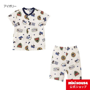 ミキハウス ダブルビー mikihouse パジャマ(80cm-140cm) ベビー キッズ 赤ちゃん 子供 男の子