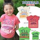 ★ダブルB★スパークリングTシャツ(80cm・90cm)【ダブルB/子供服のミキハウス】