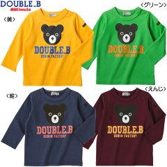 【エントリーでポイント5倍】【ダブルB】Bigビーくん☆長袖Tシャツ(100cm・110cm)