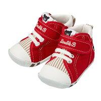 【30日限定☆ポイント5倍】ミキハウス ダブルビー mikihouse ファーストベビーシューズ(11.5cm-13cm) ベビー 赤ちゃん 男の子 女の子 靴 プレゼント 出産祝い