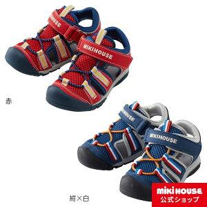 ミキハウス mikihouse サンダルアウトドア風 メッシュキッズサンダル(15cm-21cm) キッズ 子供 靴 スポーティー 男の子 女の子