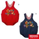 ミキハウス mikihouse ロンパース〈S-M(70cm-90cm)〉 ベビー服 子供服 オールインワン 男の子 女の子 プレゼント ギフト