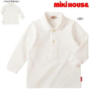 【ミキハウス】☆Every Day mikihouse☆長袖ポロシャツ(120cm・130cm)
