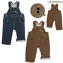ミキハウスのベビー服 イカリマーク オーバーオール 70cm 80cm 90cm Miki House通販情報 可愛い子供服