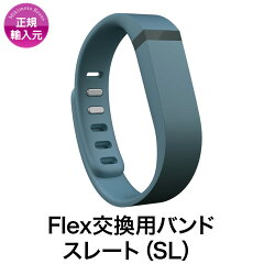 【FitbitFlexアクセサリー】【MikimotoBeansStore】Flex交換用バンドスレート(Slate)
