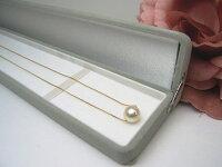 K18アコヤ真珠ペンダント【8mm】【送料無料】pwk-5200(あこや真珠和珠本真珠パールゴールドスルーネックレス)
