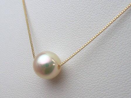 K18アコヤ真珠ペンダント pwk-5200 (あこや真珠 花珠真珠...