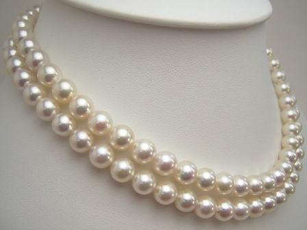 アコヤ真珠ロングネックレス nwm-5731 (あこや本真珠 アコヤ本...