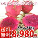 沖縄産訳ありドラゴンフルーツ【8kg】【お届け日指定不可】