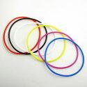 ラバー製◆リング形ブレスレット小(2mm)2本セット◆KGB001