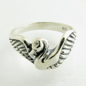 あなたの指先で白鳥が大きく羽を広げるきれいでかわいいアイテムです【送料無料】DAgDART・ダグ...