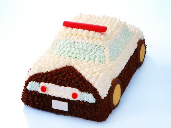 マイルストーン パトカーケーキ【送料無料】(バースデーケーキ/誕生日ケーキ/デコレーションケーキ/立体ケーキ/3Dケーキ/男の子/サプライズ/プレゼント/こどもの日)