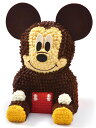 マイルストーン ミッキー/3Dケーキ【ミッキーマウス クリスマス バースデーケーキ 誕生日 キャラクター ディズニー 立体ケーキ デコレーションケーキ パーティー】