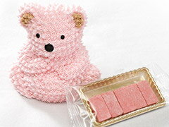 可愛いピンクのドリーミーベアーと苺生チョコレートをセットにしました!カナディアンドリーミ...