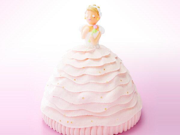 マイルストーン プリンセスケーキ【送料無料】(バースデーケーキ/誕生日ケーキ/デコレーションケーキ/3Dケーキ/立体ケーキ/プレゼント/サプライズ/女子会/キャラクター/おとりよせ/ウエディング)