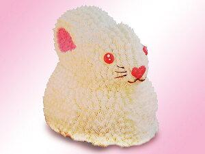 うさぎの3D(立体)ケーキが2011年モデルとして遂に登場!!家族や友達と大勢のパーティーにピ...
