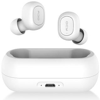 【楽天1位】QCY T1 ワイヤレスイヤホン Bluetooth 5.0 自動ペアリング 完全ワイヤレス bluetooth イヤホン ブルートゥース イヤホン スマホ対応 マイク付き カナル 高音質 両耳 片耳 通話 防水 イヤホン ワイヤレス ヘッドセット ヘッドホン 長時間 iPhone Androd対応