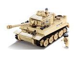 【AFM ミリタリーブロックシリーズ/パンツァ】AFM ドイツ軍 Tiger 995Blocks◆タイガー戦車/ティーガー/重戦車/LEGO互換
