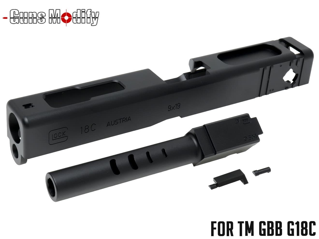 サバイバルゲーム・トイガン, エアガン GunsModify G18C CNC SET 2016Ver GLOCK 18C ESR315