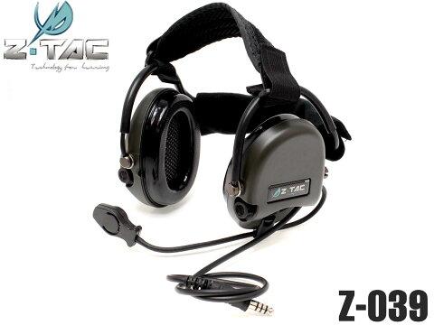 Z-TACTICAL TCI Liberator II スタイル タクティカルヘッドセット◆リベレイター サバゲ通信アイテム 連携強化 Zタクティカル 通信機 サバイバルゲーム