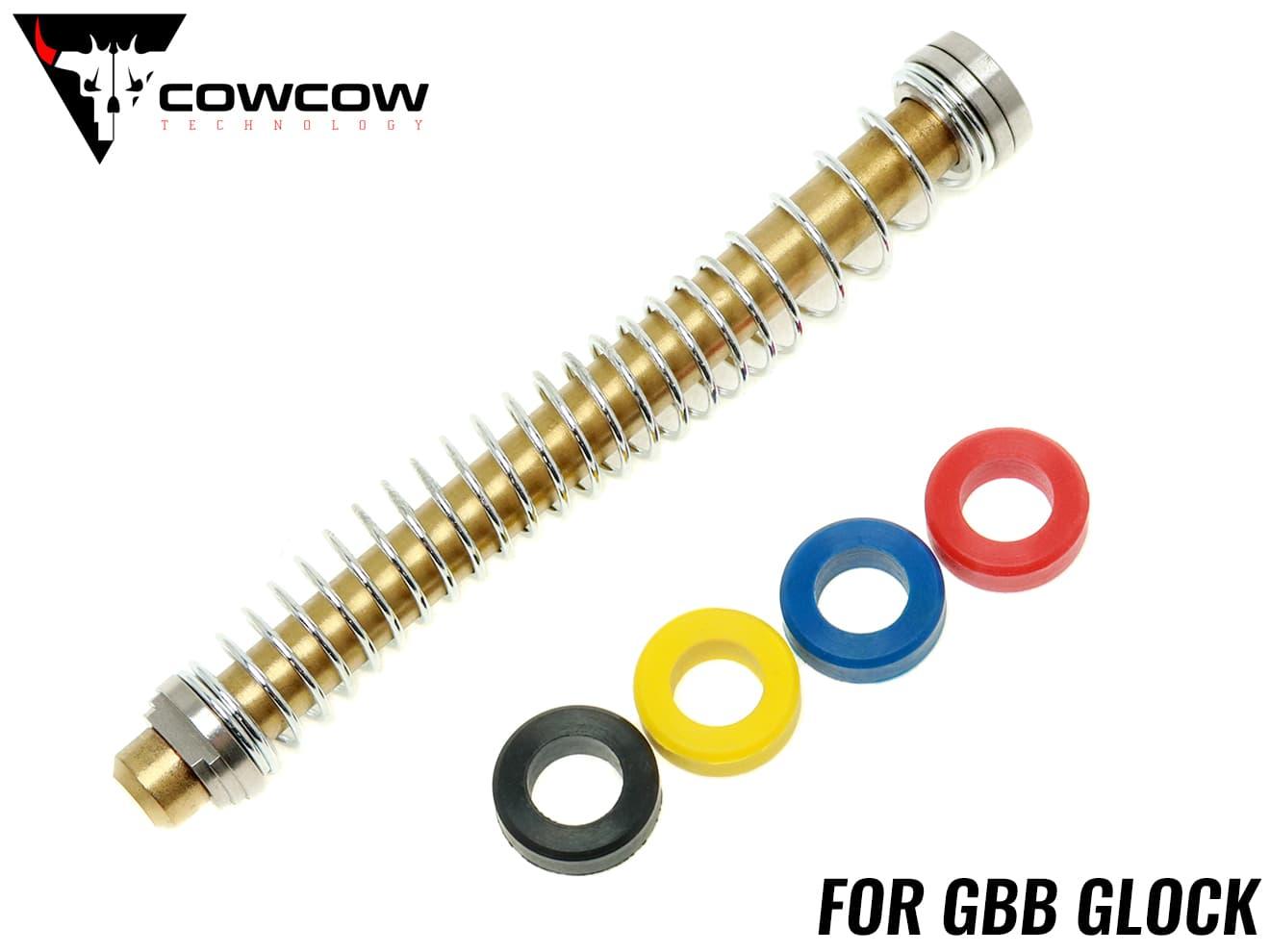装備・備品, その他 COWCOW TECHNOLOGY TiN G17G18CG22G34GLOCK SP