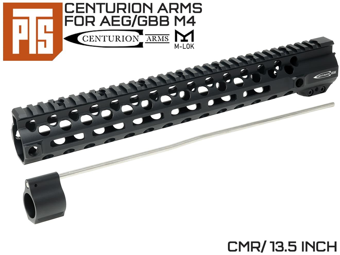 PTS Centurion Arms CMR M-LOKレール 13.5インチ for M4◆マルイ系 AEG/GBB M4用 RAS エムロックモジューラーレール 軽量 民間カスタム KSC画像