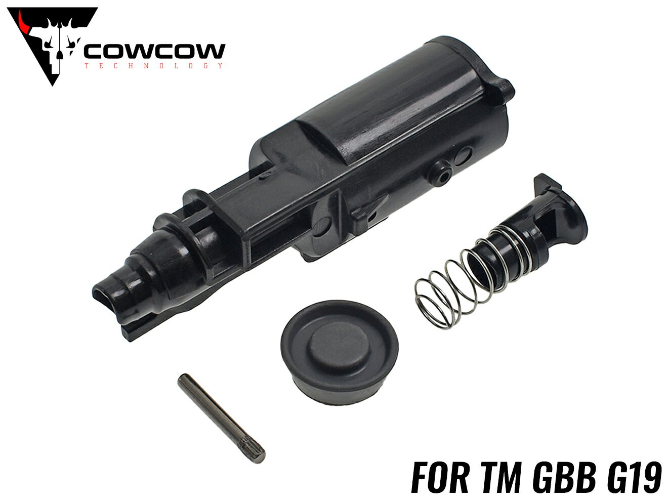 装備・備品, その他 COWCOW TECHNOLOGY TM G19 GBB GLOCK G19