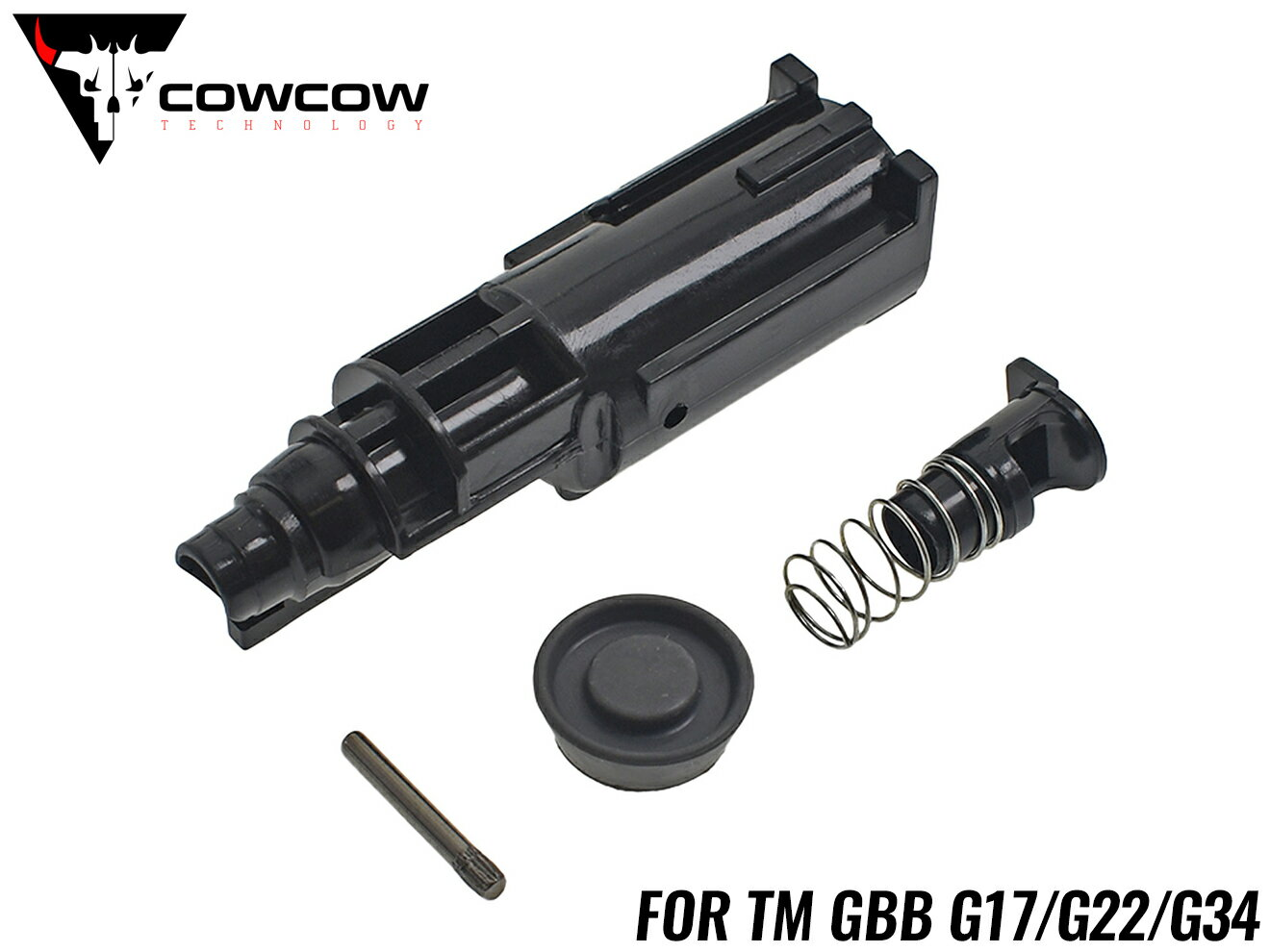 装備・備品, その他 COWCOW TECHNOLOGY TM G17G22G34 GBB GLOCK UP