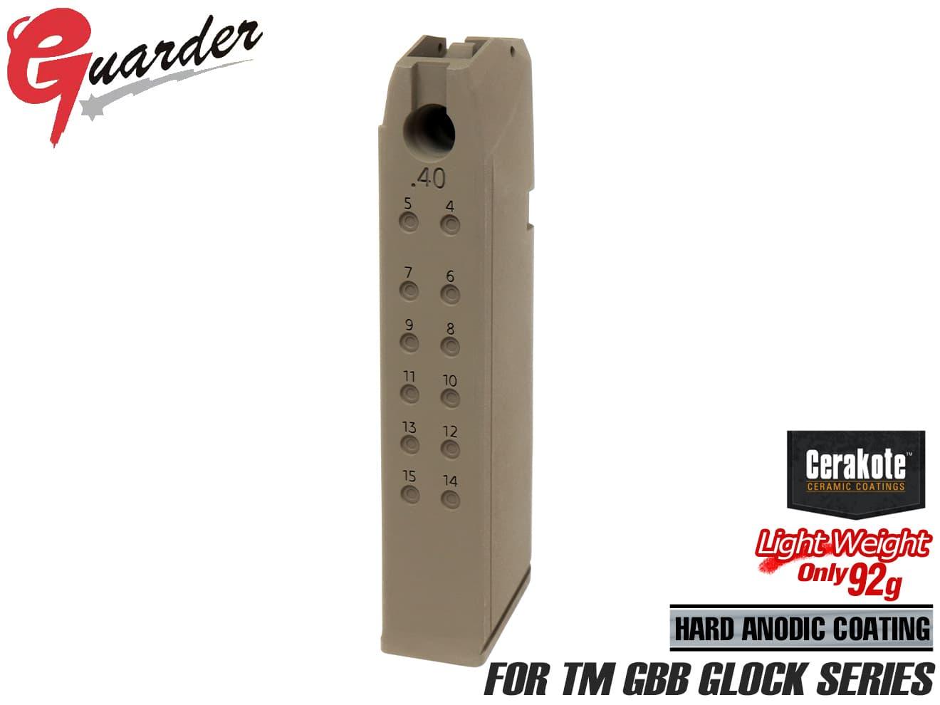 装備・備品, その他 GLK-150(B)FDEGUARDER G17G18CG22G34 .40 FDE GBB GLOCK WE KJ