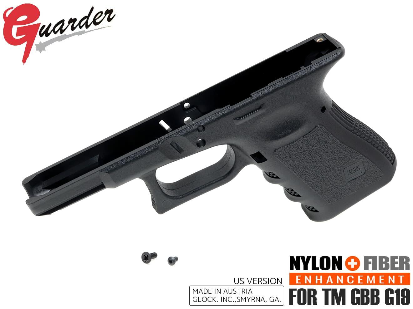サバイバルゲーム・トイガン, エアガン GLK-180(BK)GUARDER GLOCK Gen.3 US Ver for G19 G19 US