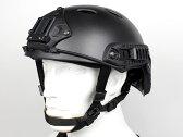 【サバゲーに】OPS-CORE FAST CARBON タイプ ヘルメット BK M/L◆VSAシュラウド標準装備/米軍/特殊部隊