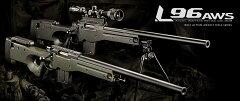 東京マルイ L96AWS ブラックストック ボルトアクションエアーライフル [エアガン/エアー…