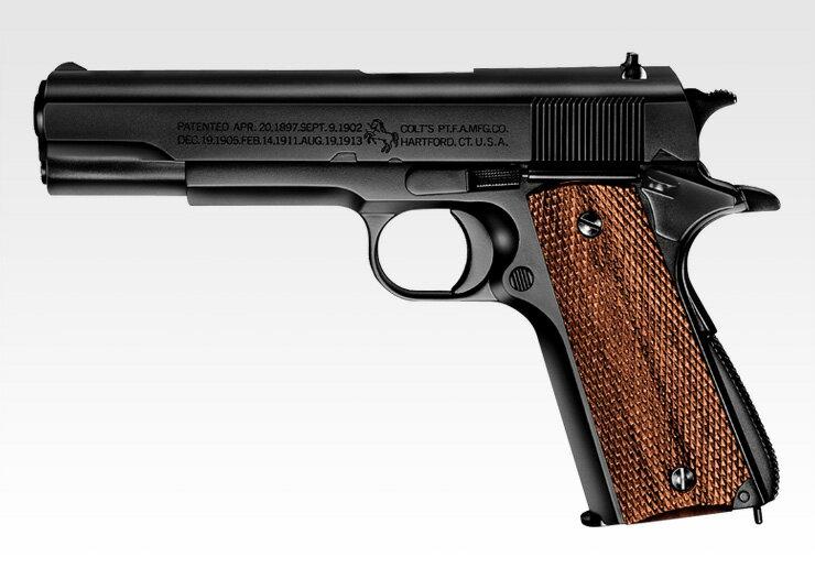 東京マルイ エアーハンドガン(10才用モデル)コルト M1911A1ガバメント【ホップアップ】 エアガン エアーガン画像